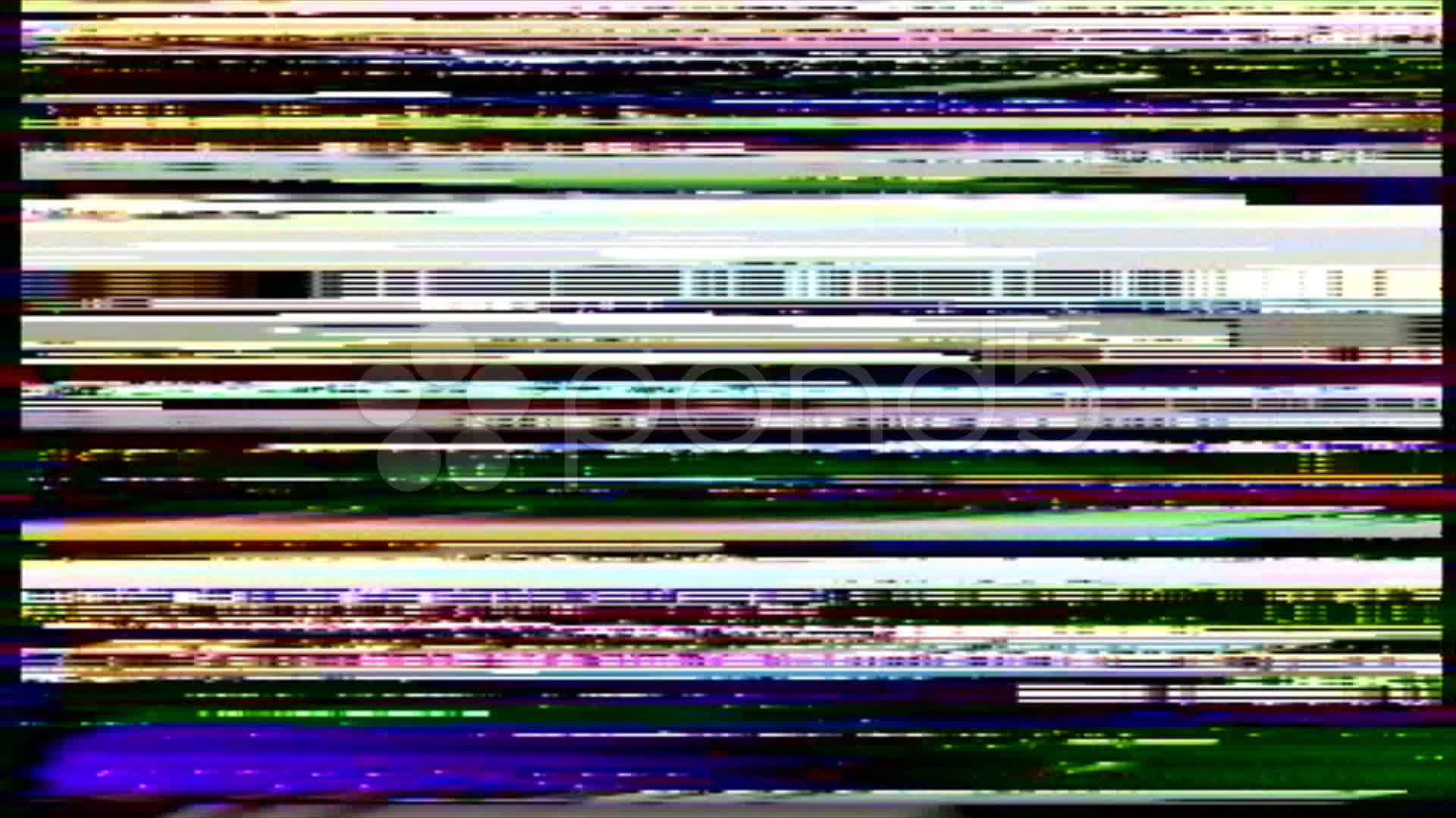 White Wave 3d Wallpaper Vhs Noise On The Greenscreen Stock Video 11302075 Hd