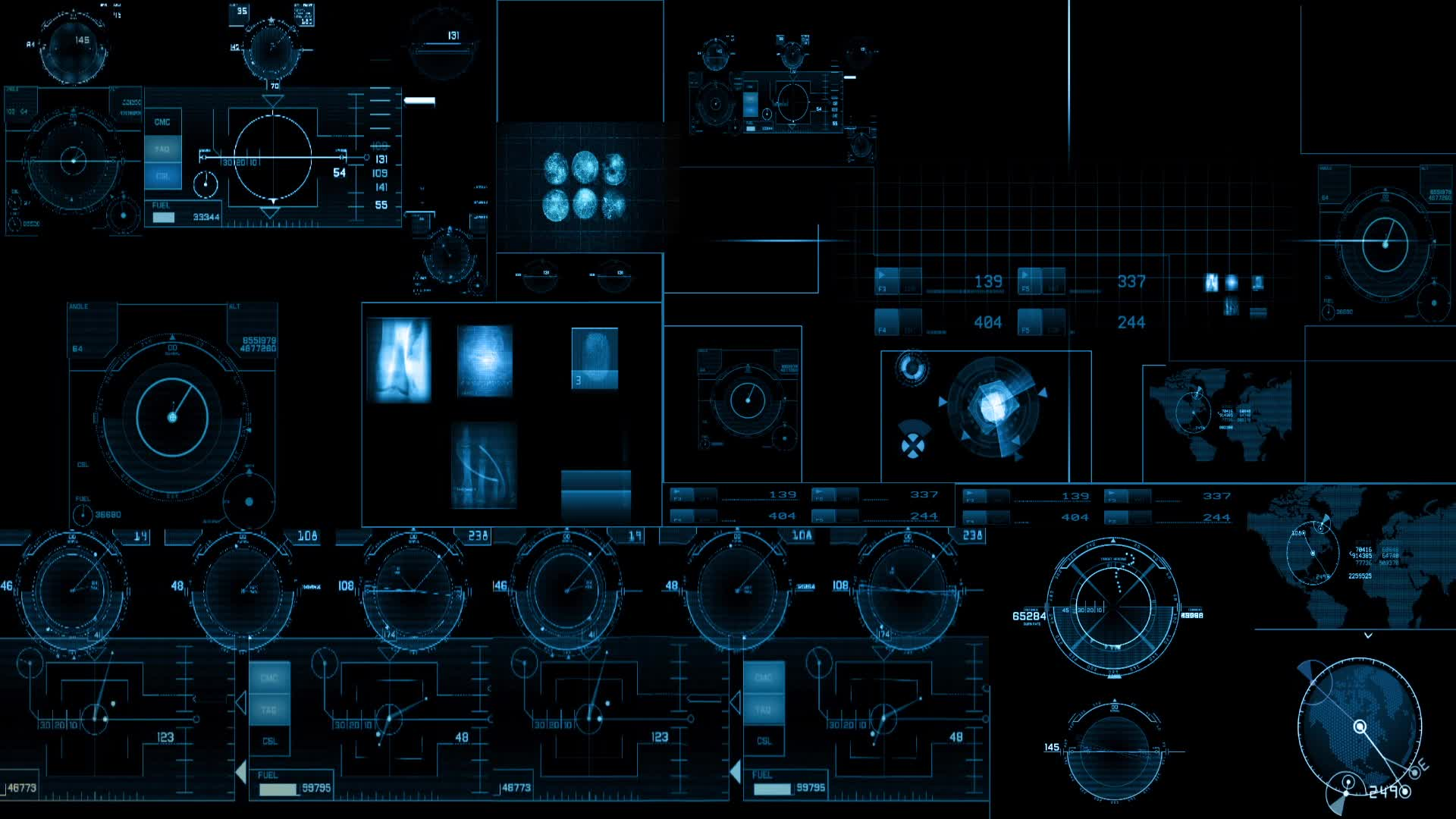 Iphone Wallpaper Icon Template Stock Video Scifi Hud Buy Now 23717469 Pond5