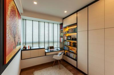 Modern Study Room | Interior Design Singapore | Interior Design Ideas