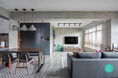 10 Open Concept Designs For Your Future Flexi HDB Flat ...