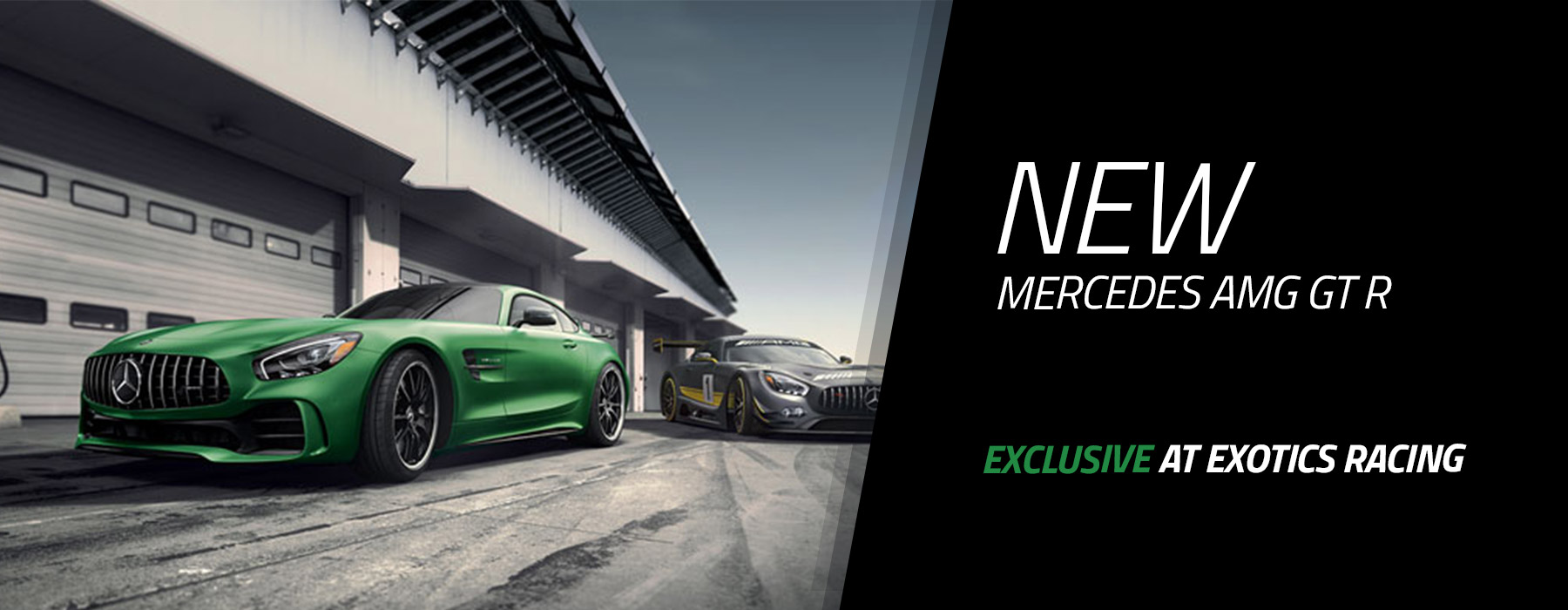 Mercedes Amg Drive A Mercedes Amg Gt R On A Racetrack At Exotics Racing
