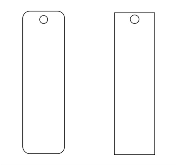Blank Funeral Bookmark Template Funeral Program Template