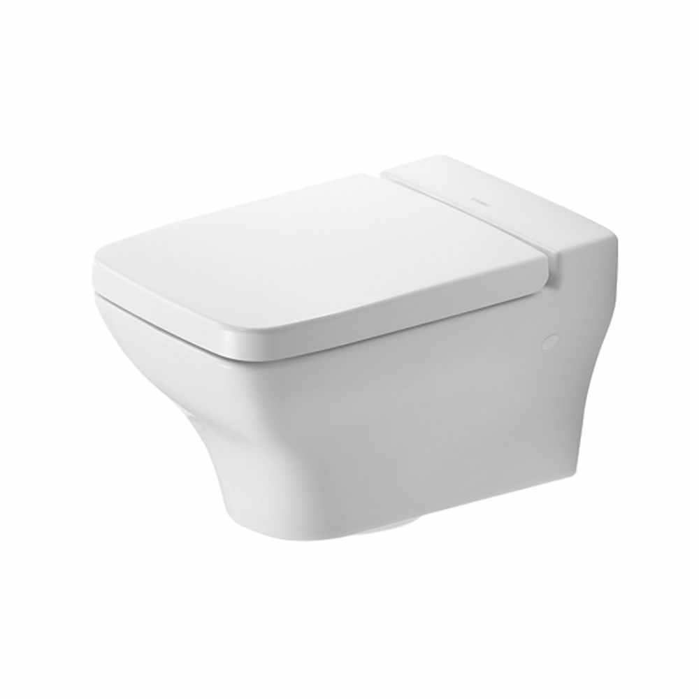 Toilet Vlakspoel Duravit Puravida 2219090000 Wall Mounted Pan Bathrooms And