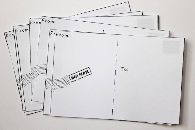Make Your Own Postcards Free Printable - 24\/7 Moms - printable postcard template free