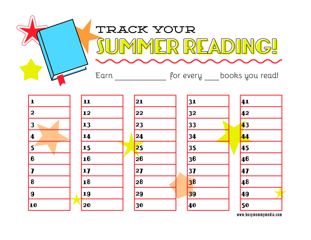 Free Summer Reading Printable 24 7 Moms
