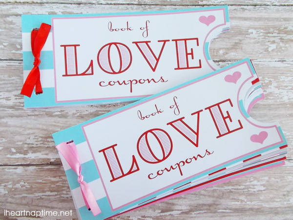 Free Love Coupon Book Printable - 24/7 Moms