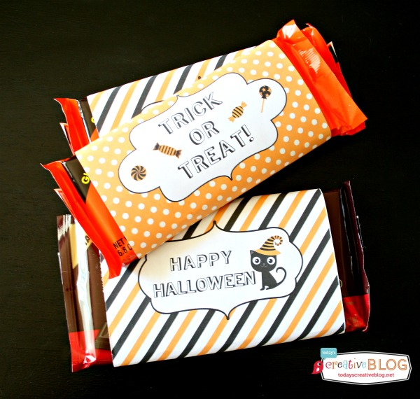 Free Halloween Candy Bar Wrapper Printables - 24/7 Moms