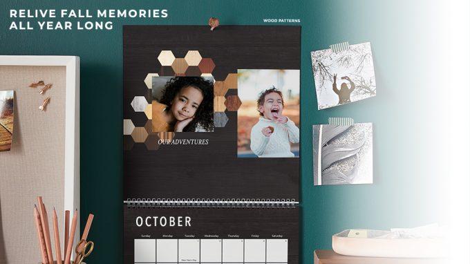 Free 8x11 Wall Calendar Or Easel Calendar From Shutterfly