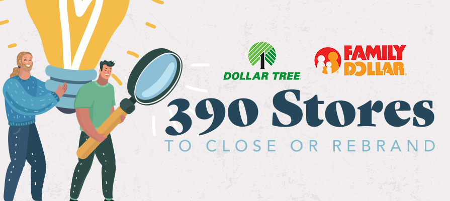 Dollar Tree to Shutter 390 Stores and Rebrand 200 More Deli Market