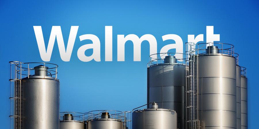 Walmart to Build 250,000-Square-Foot Milk Processing Plant Deli