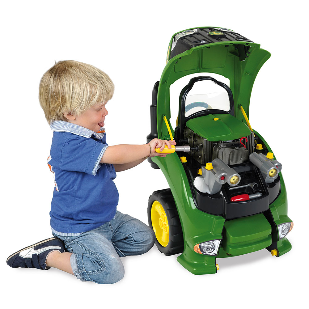 Kettler Kids Comfort John Deere Tractor Engine Best Active Play For Ages 3 To 6