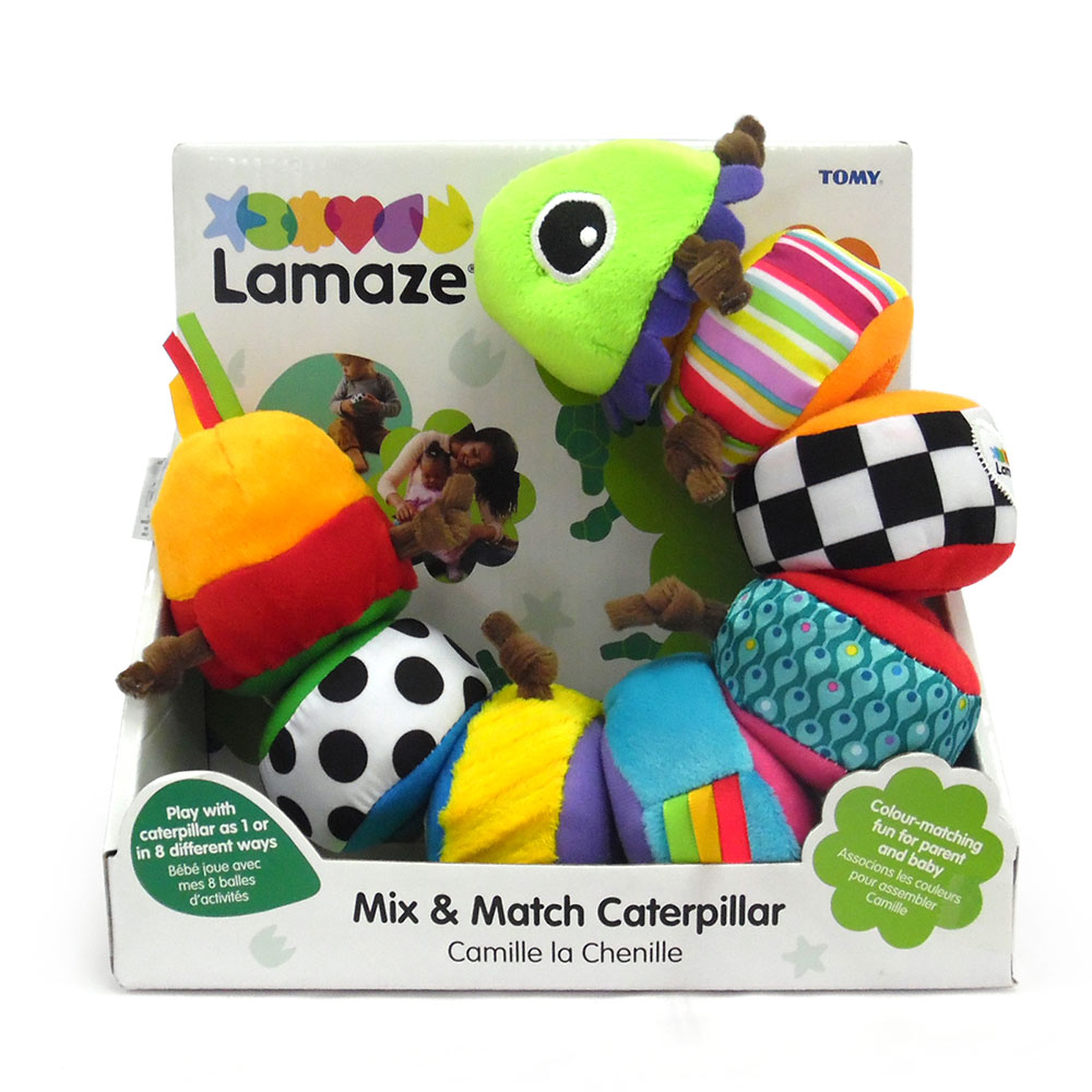 Mix And Match Lamaze Mix And Match Caterpillar