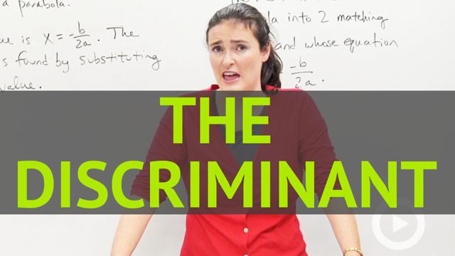 The Discriminant - Concept - Algebra Video by Brightstorm