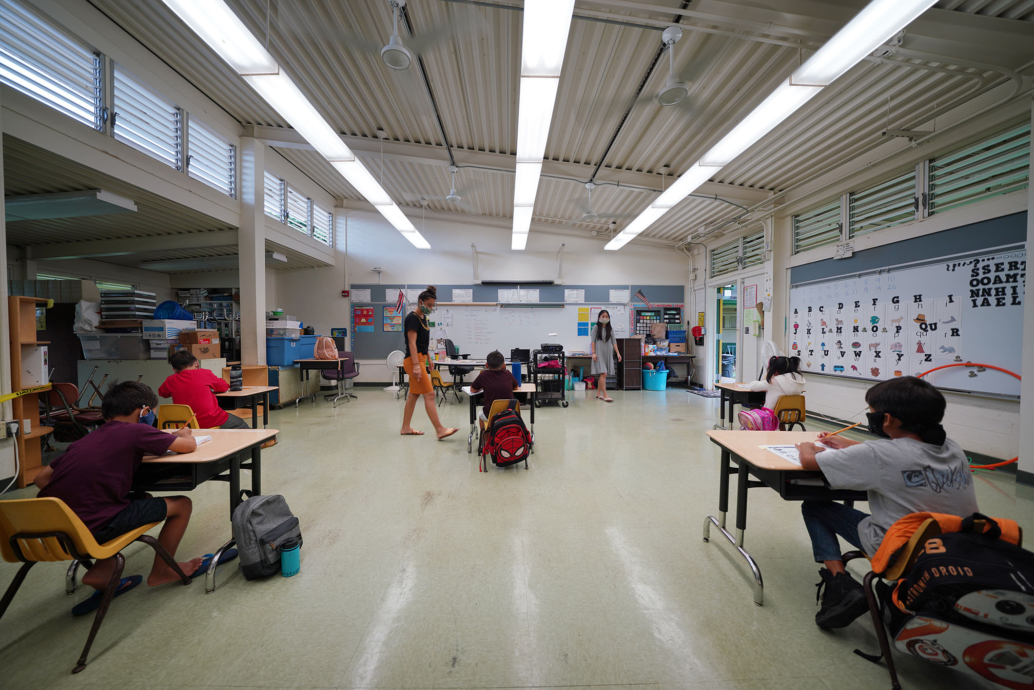 Here S How Hawaii Plans To Bring Kids Back To School This Fall Honolulu Civil Beat