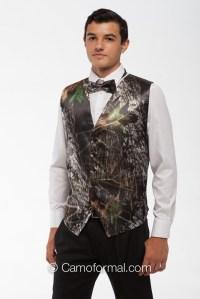 *MEN's VEST and TIE SET (select tie type) Camouflage Prom ...
