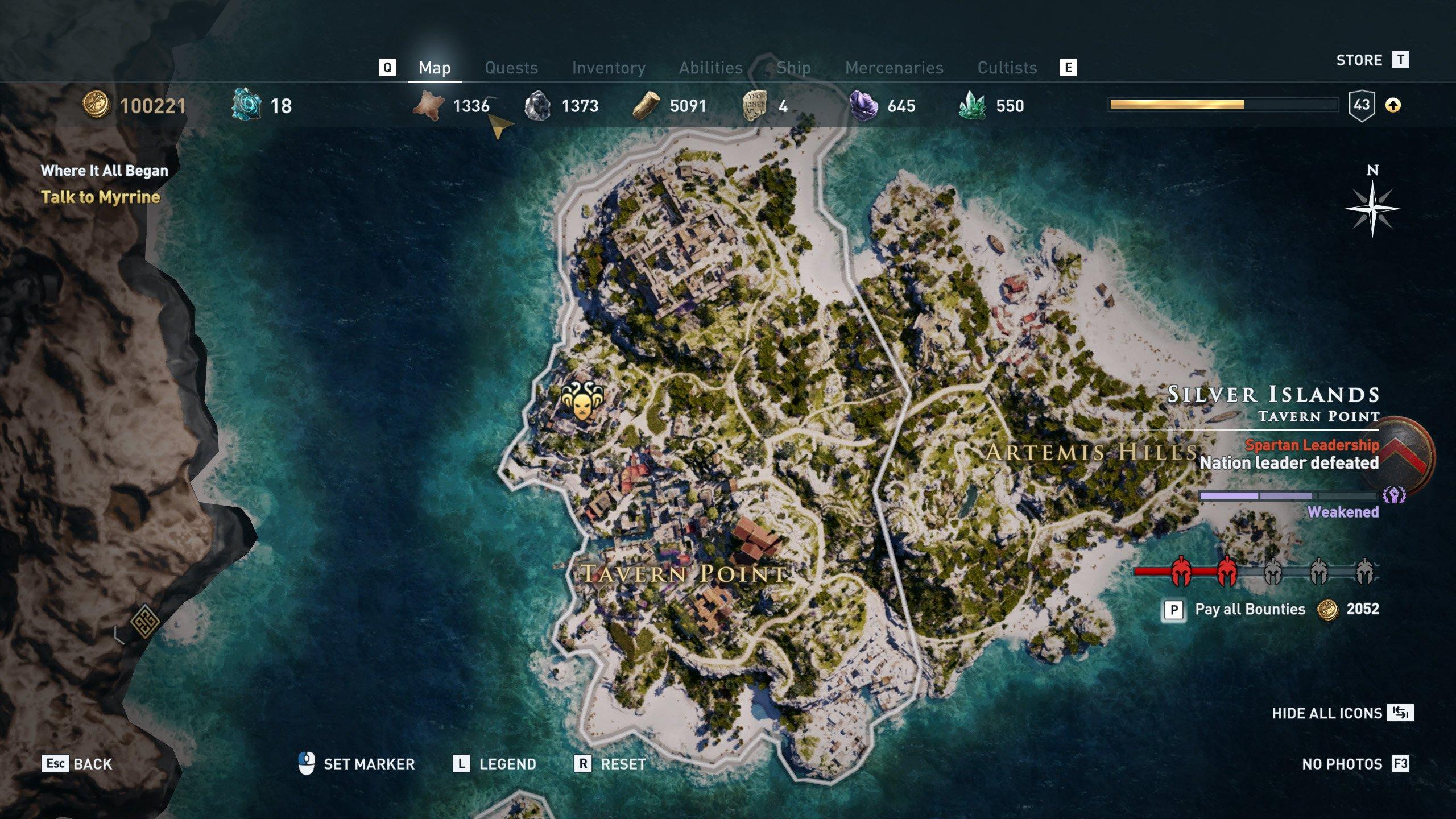 Delian League Locations Assassin39s Creed Odyssey Shacknews