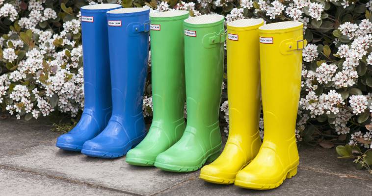 Coloured Wellies Boot Style