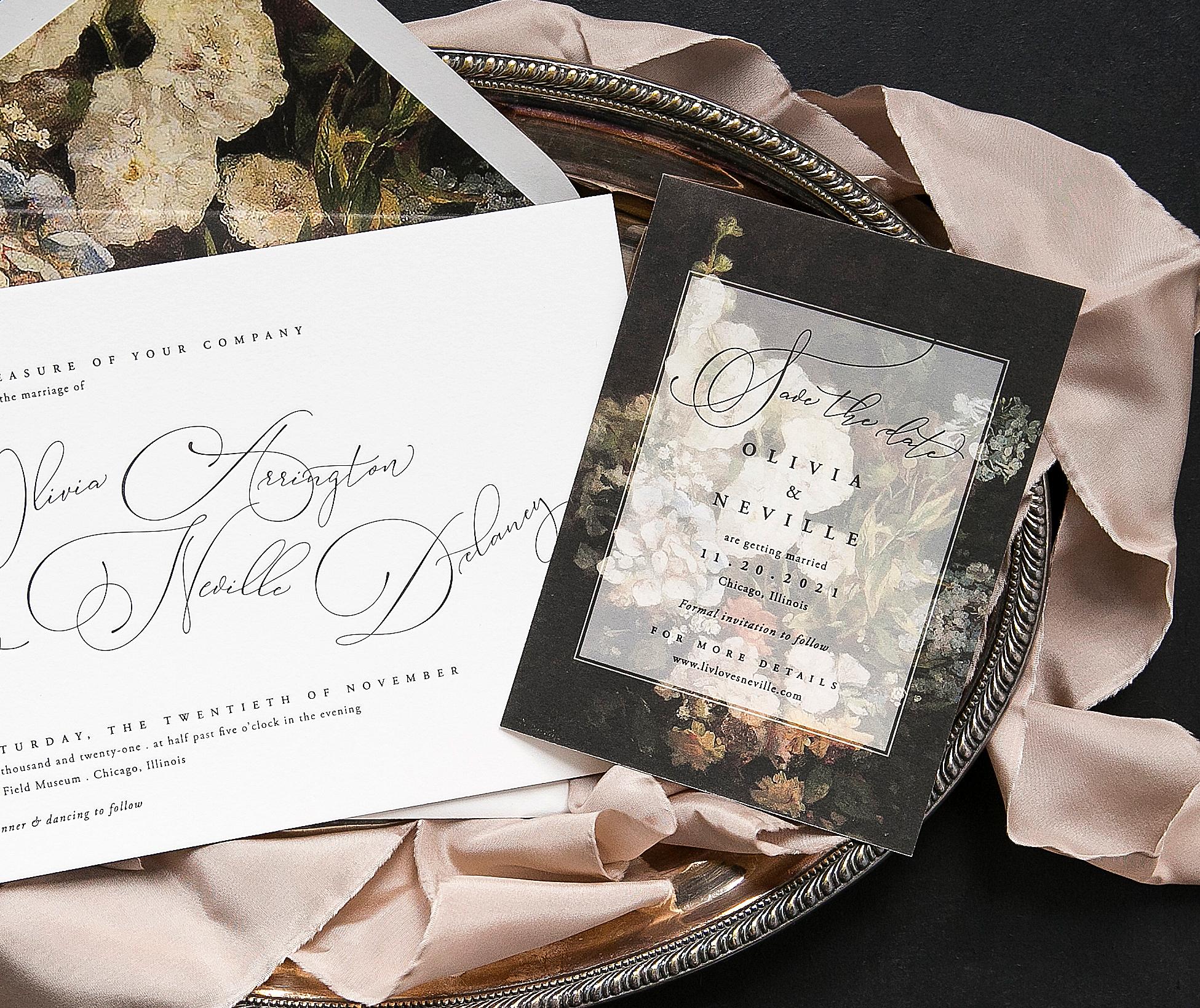 Calm Shop Save Letterpress Wedding Invitations From Bella Figura Wedding Invitation Printing Staples Wedding Invitation Printing Prices wedding invitation Wedding Invitation Printing
