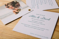 Splendiferous Letterpress Save Date Booklets From Smock Save Dates Cheap Save Date Cards Cheap Save Dates Weddings