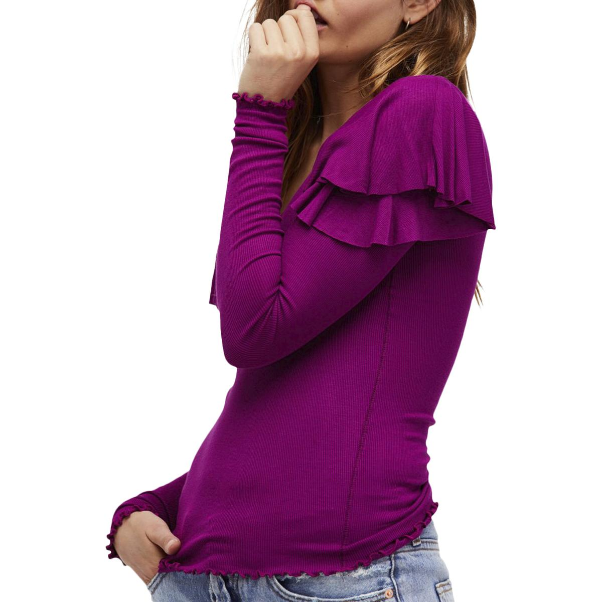 Xs Long People We The Purple Berry Ob672766 Top Xs Long Sleeve
