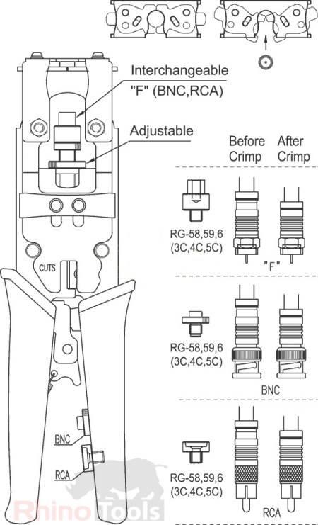 description crimping tool die pro crimp dies wire crimping tool