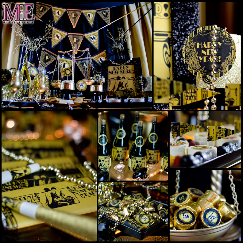 Gatsby Party Decorations, 1920\u0027s Theme Party Metro-Events Party