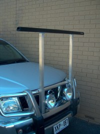 Utility Front Bull Bar Roof Rack - Sleeved (ea) - Roof ...