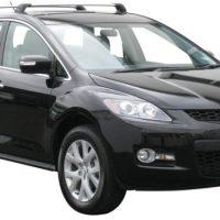Mazda CX7 4dr SUV 11/06-01/12 Whispbar Black Flush Bars ...