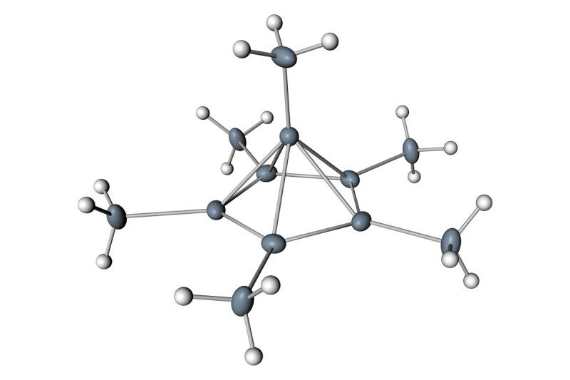 Carbon seen bonding with six other atoms for the first time New - carbon bonds