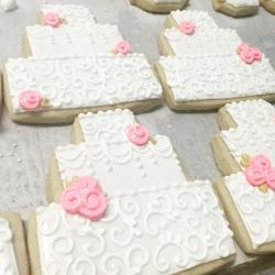 Small Of Wedding Cake Cookies