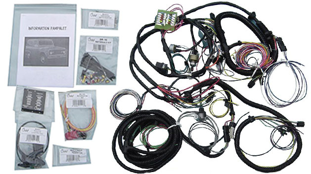 Wiring Harness  Pigtails - Toms Bronco Parts