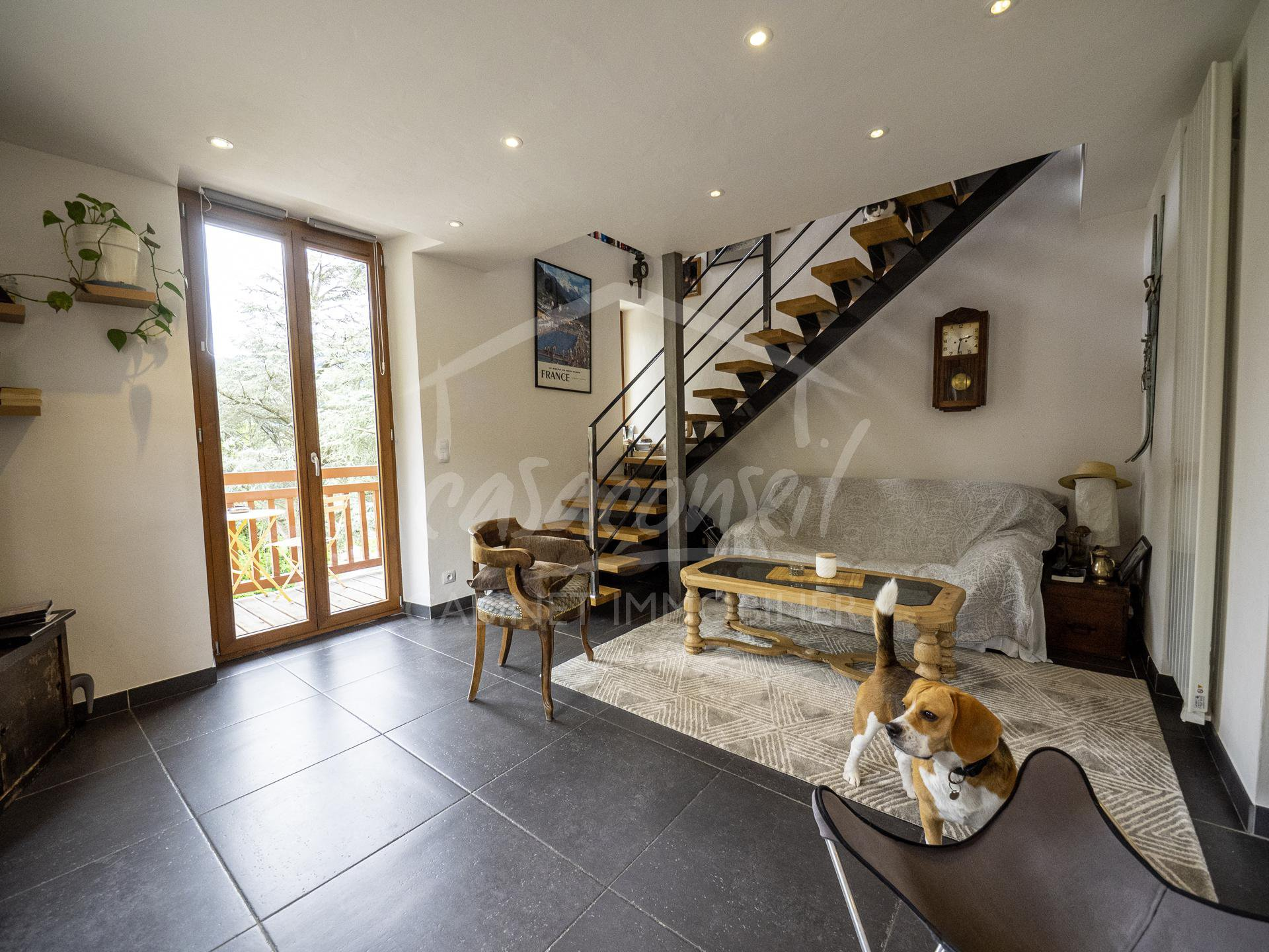 Escalier Mobil Home St Gervais Mont Blanc 2 Bedroom Duplex Apartment With Balcony