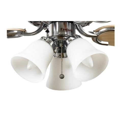 Fantasia Belmont ceiling fan light shade, indoor ceiling