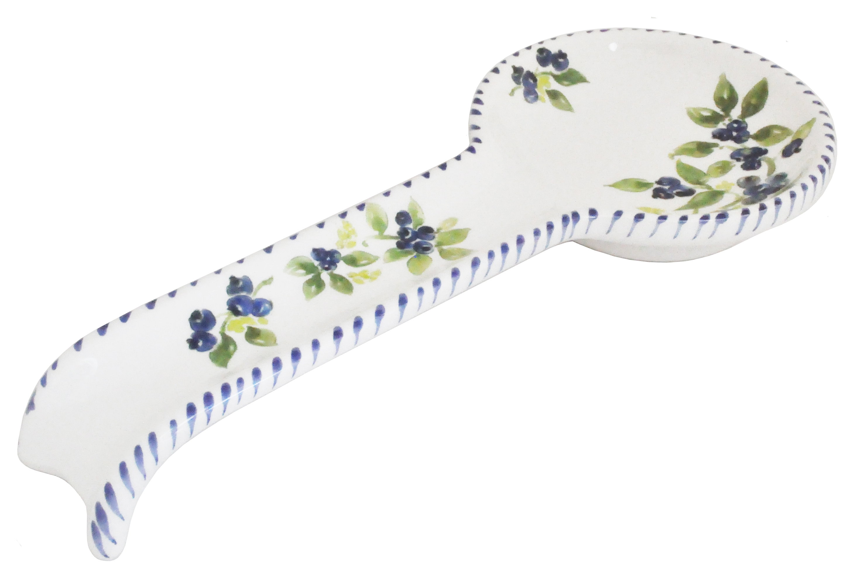 Chaise Spoon Blueberry Spoon Rest 9 5