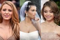 32 Celebrity Wedding Hairstyle Inspirations   ewmoda