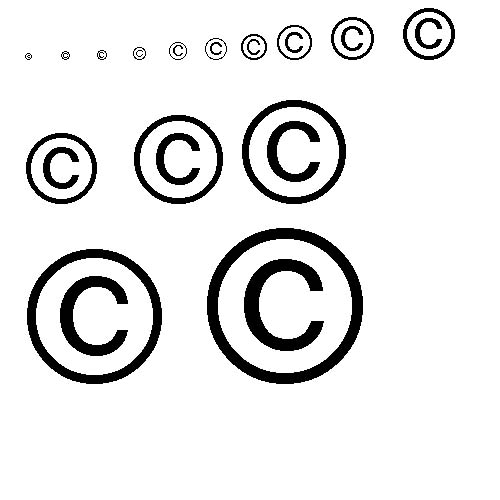copyright symbols for you to use Photonet Photography Forums