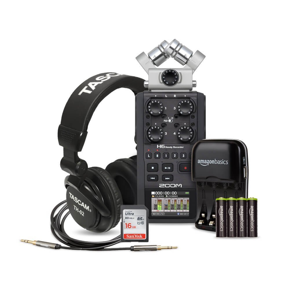 Zoom H6 Recorder Rent A Zoom H6 Six Track Portable Recorder Extras Best Prices Sharegrid Los Angeles