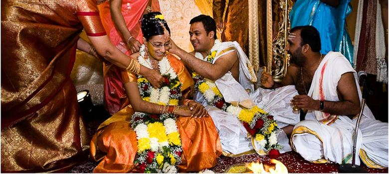 Cute Indian Married Couple Wallpaper Thaali Power Why The Golden Tamil Wedding Thread Drives