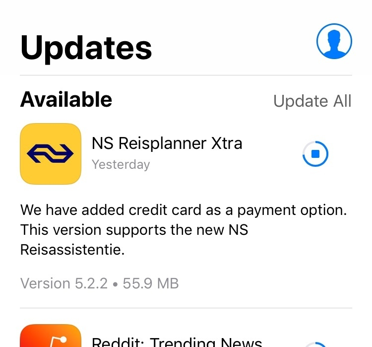 NS Reisplanner Xtra why no credit card/PayPal for mobile tickets