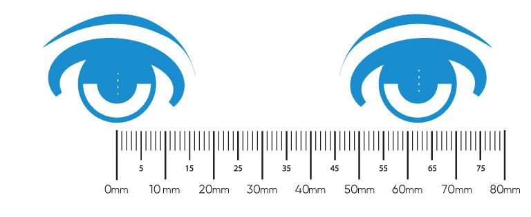 Measuring Pupillary Distance (PD)