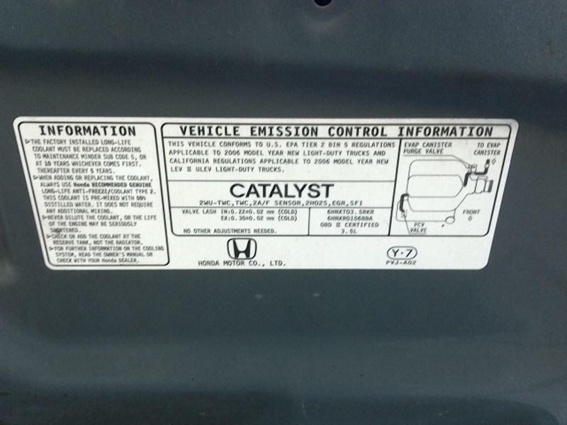 2004-2008 Honda Pilot Fuse Box Ex-L Leather 114717 eBay