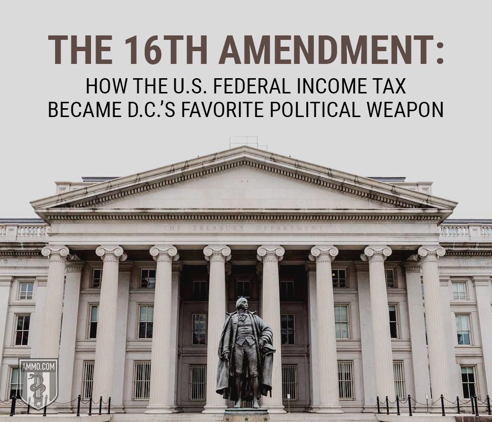 O History S The 16th Amendment A Historical Guide Of The U S Federal Income Tax