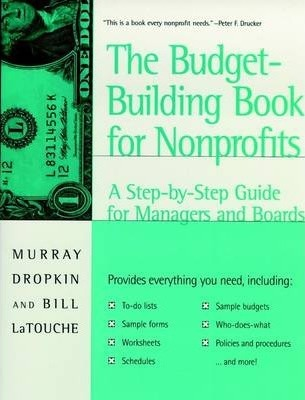 Nonprofit Budgeting  Murray Dropkin  9780787940362