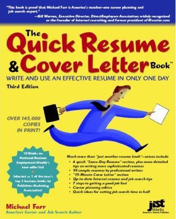 The Quick Resume  Cover Letter Book  J Michael Farr  9781593571467