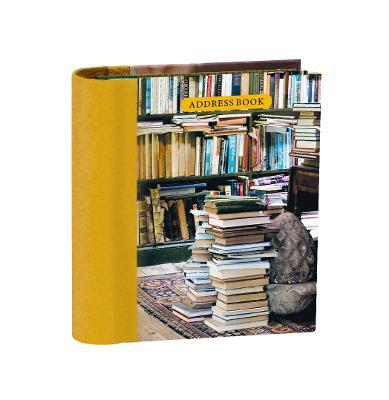 At Home with Books Mini Hardback Address Book  To Be Announced