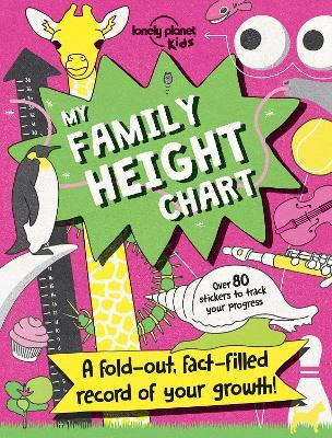 My Family Height Chart  Lonely Planet Kids  9781786576880 - progress chart for kids