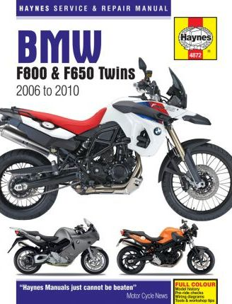BMW F800 (including F650) Twins Service and Repair Manual  Phil