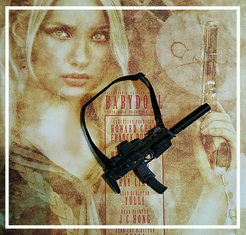 Hot Toys Babydoll 1 6 Hot Toys Mms157 Sucker Punch Babydoll Magazine Gun With Silencer Us Seller