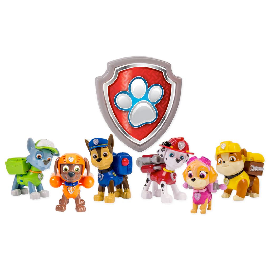 Spin master paw patrol paw patrol action pack rescue team walmart