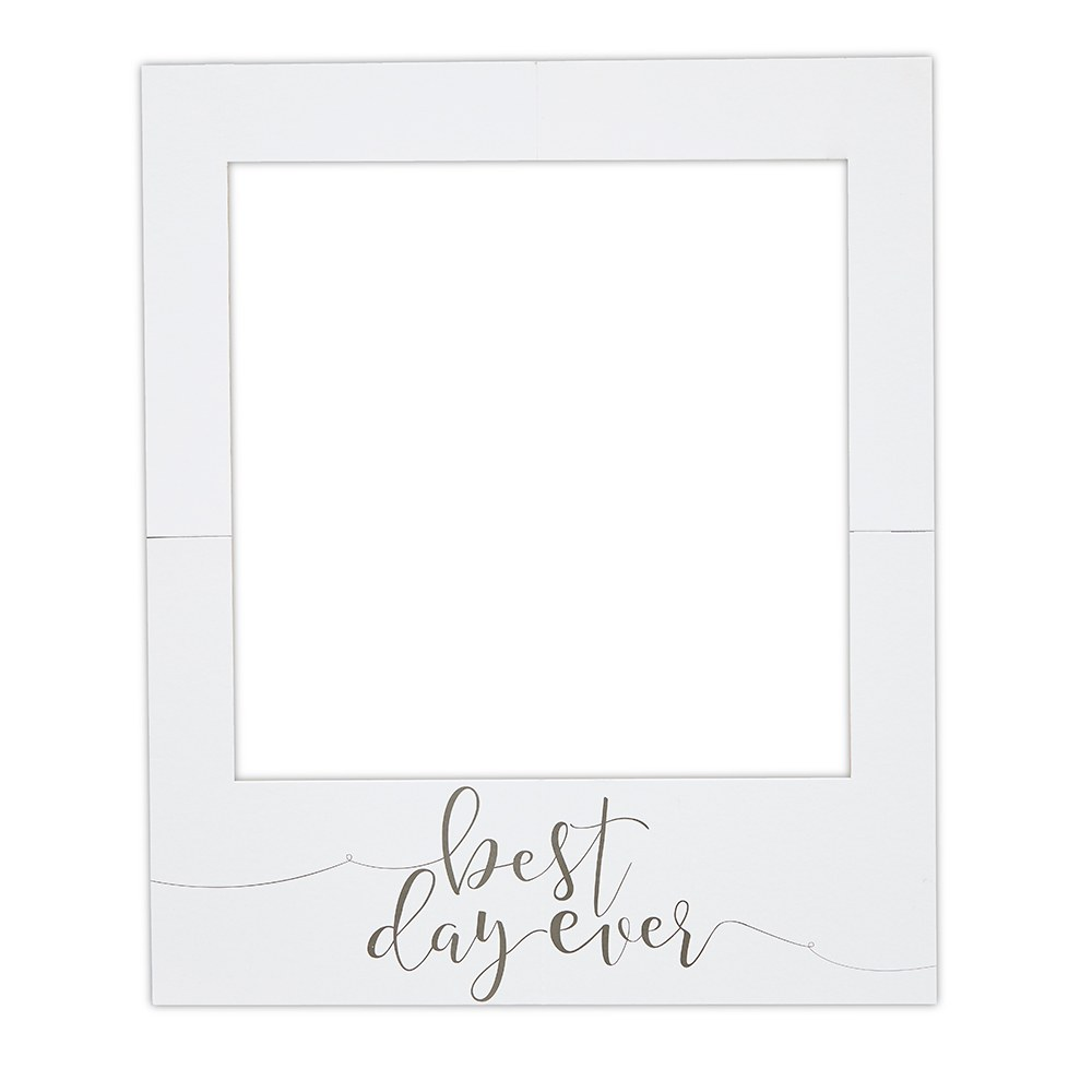 Large Frame Picture Large Wedding Frame Photo Booth Background Prop Best Day Ever Polaroid